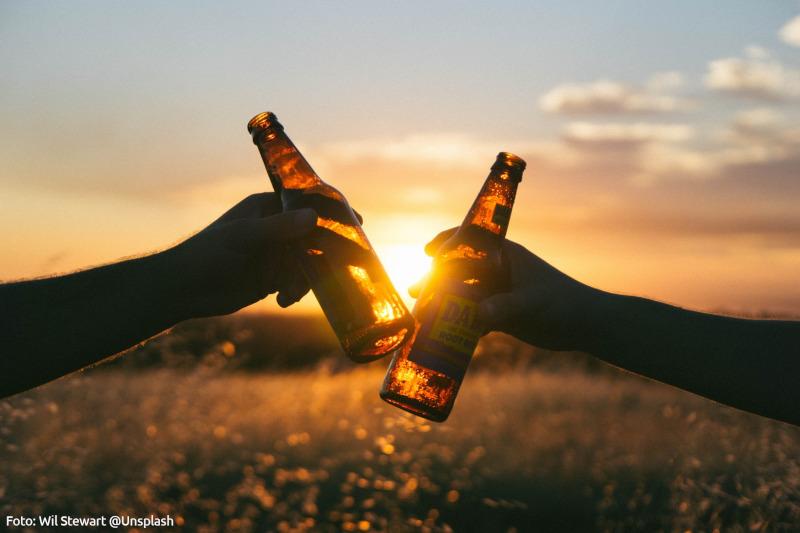 Man kann auch ohne Spaß Alkohol haben