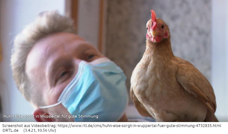Ein Huhn mit Style